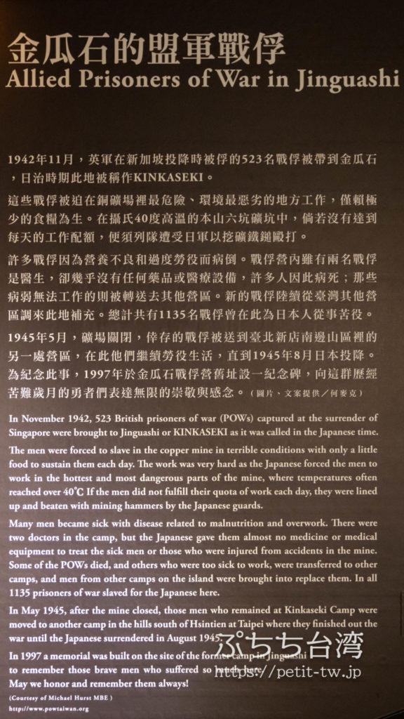 金瓜石 黄金博物館(新北市立黃金博物館)の概要説明