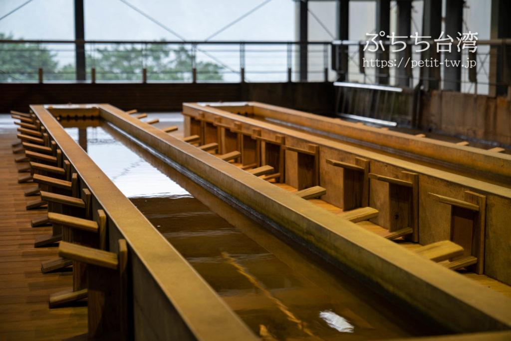 金瓜石 黄金博物館(新北市立黃金博物館)の砂金取り体験