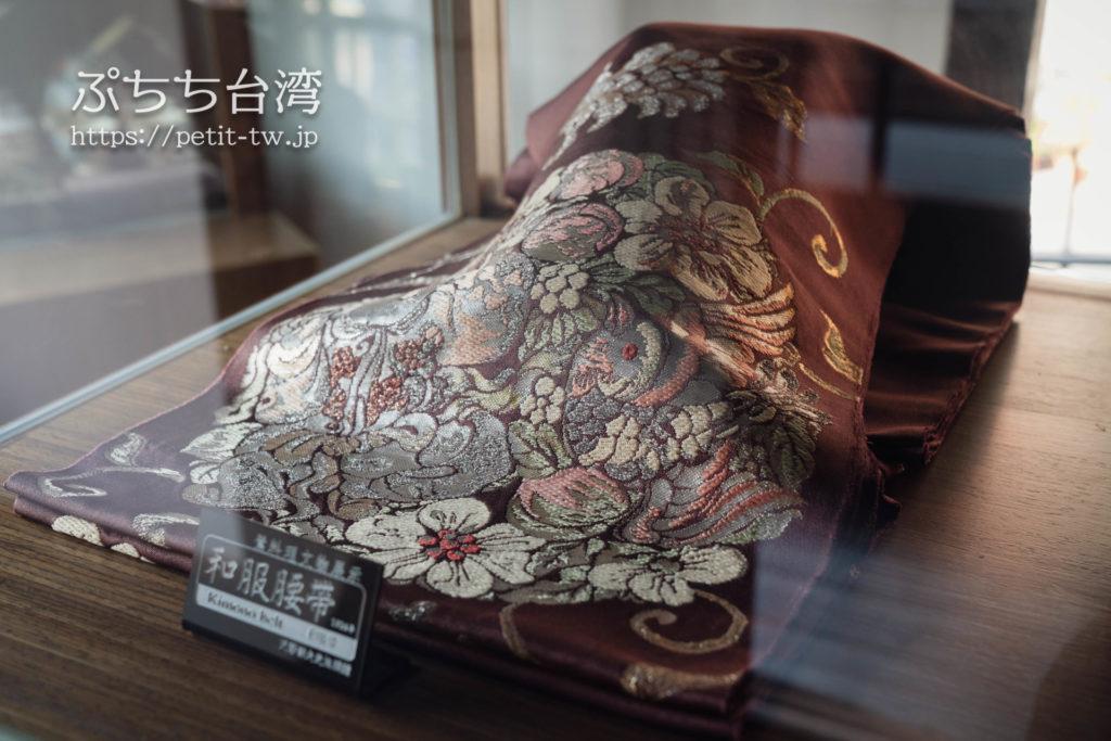 台南の旧料亭の鶯料理の館内の和服