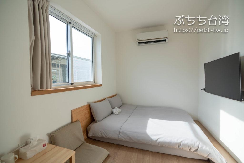台南のAirbnb 小巷旺宅の客室