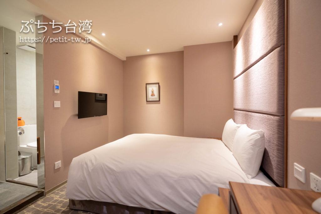 オレンジホテル ウェンフア 嘉義(フォルテオレンジビジネスホテル、福泰桔子商旅 文化店、Orange Hotel Wenhua Chiayi)の部屋