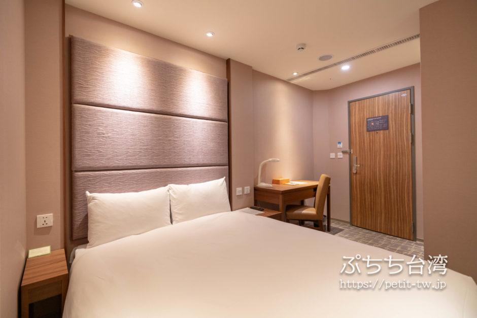 オレンジホテル ウェンフア 嘉義(フォルテオレンジビジネスホテル、福泰桔子商旅 文化店、Orange Hotel Wenhua Chiayi)の客室