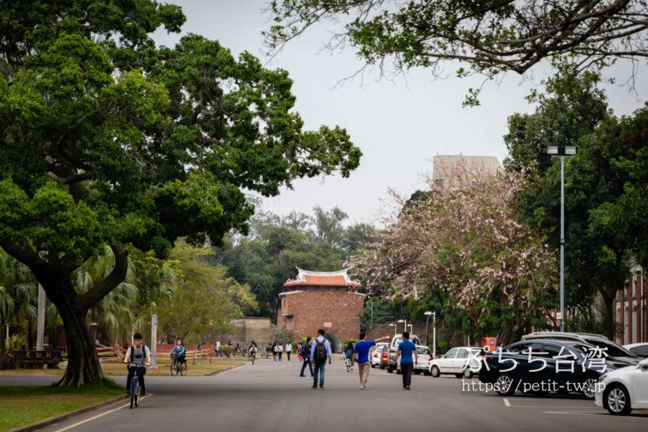 台南の成功大学キャンパス