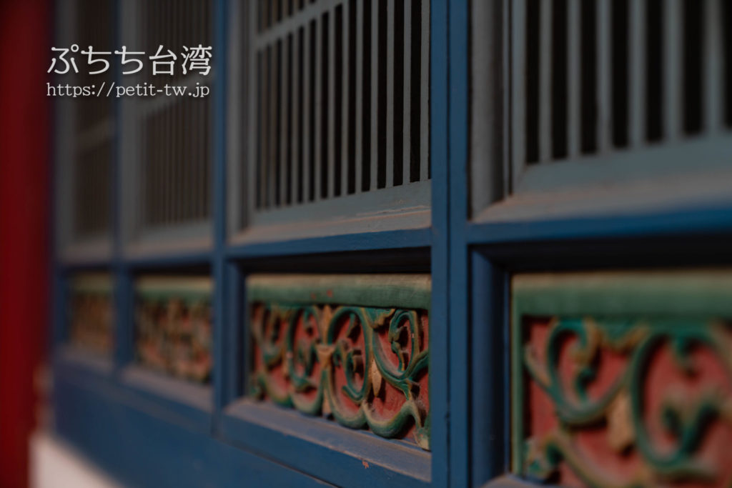 台南の祀典武廟