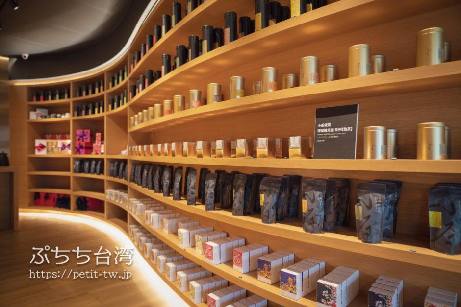 小茶栽堂の店内の商品