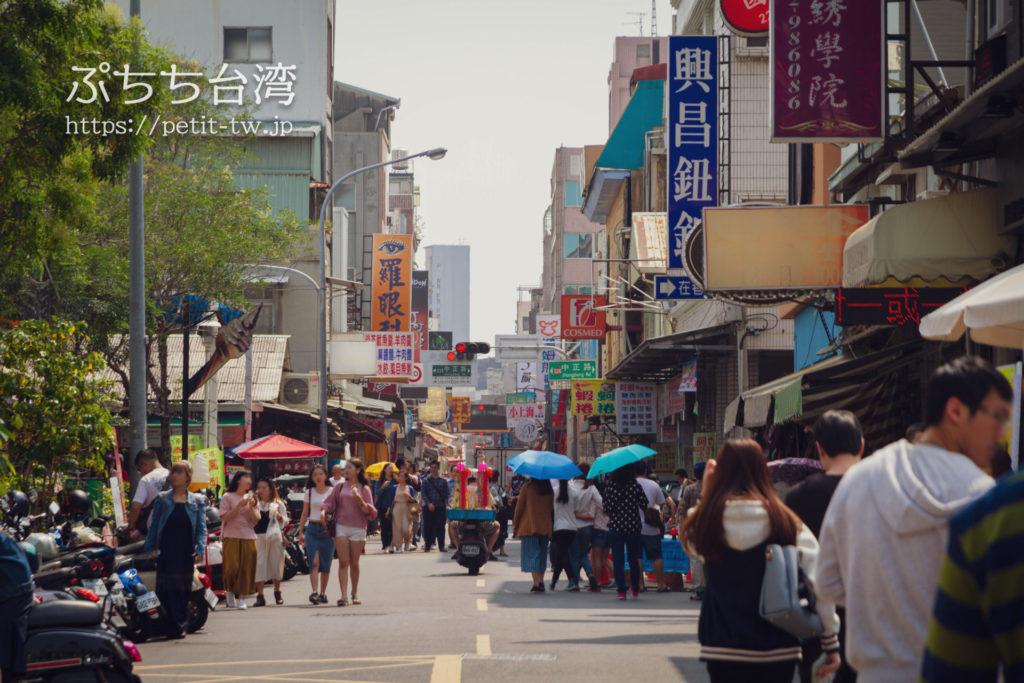 台南の國華街三段