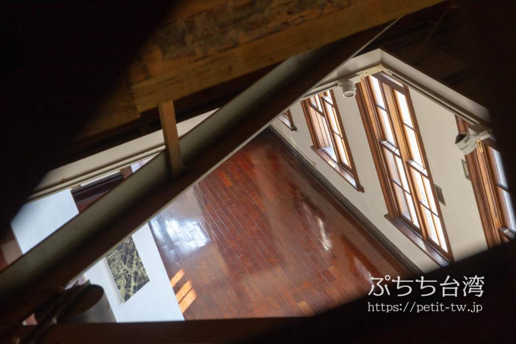 旧台中市役所の屋根裏