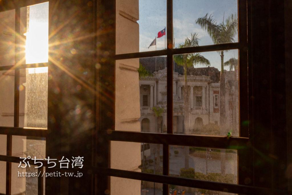 旧台中市役所から見える台中州庁