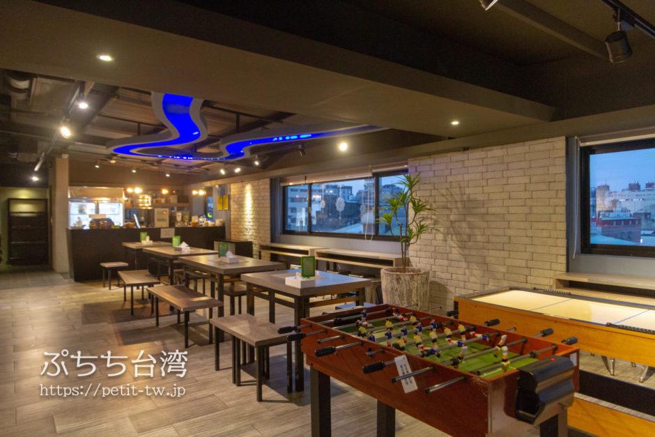 奇異果快捷旅店站前二店 KIWI EXPRESS HOTEL-Taichung Station Branch 2の共用ラウンジ