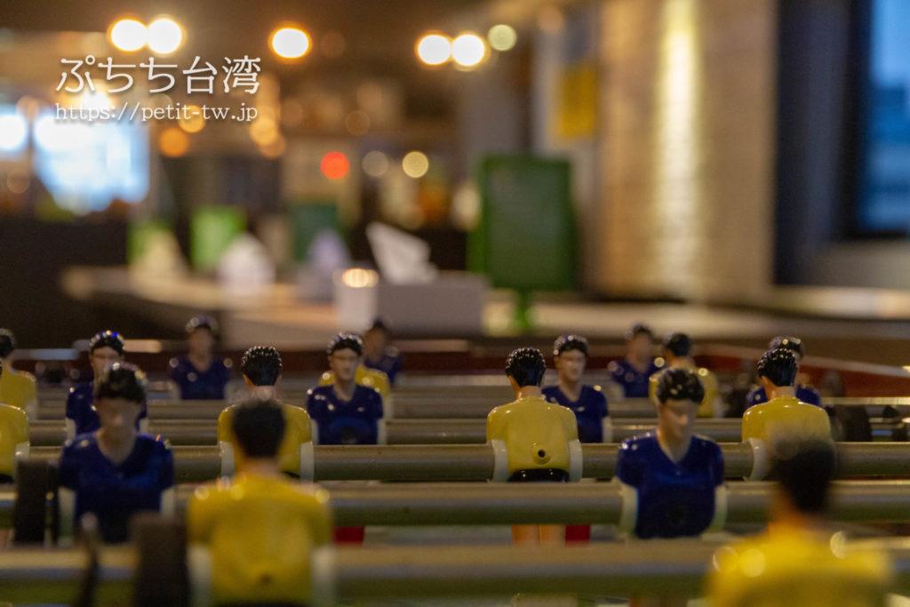 奇異果快捷旅店站前二店 KIWI EXPRESS HOTEL-Taichung Station Branch 2の共用ラウンジのテーブルゲーム