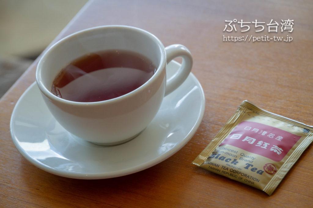 ザ ラルー サンムーンレイク 涵碧樓の朝食の日月潭紅茶