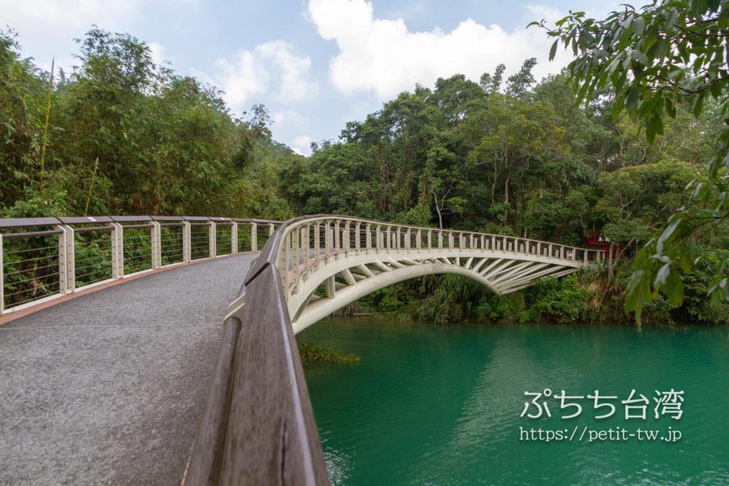 日月潭の同心橋