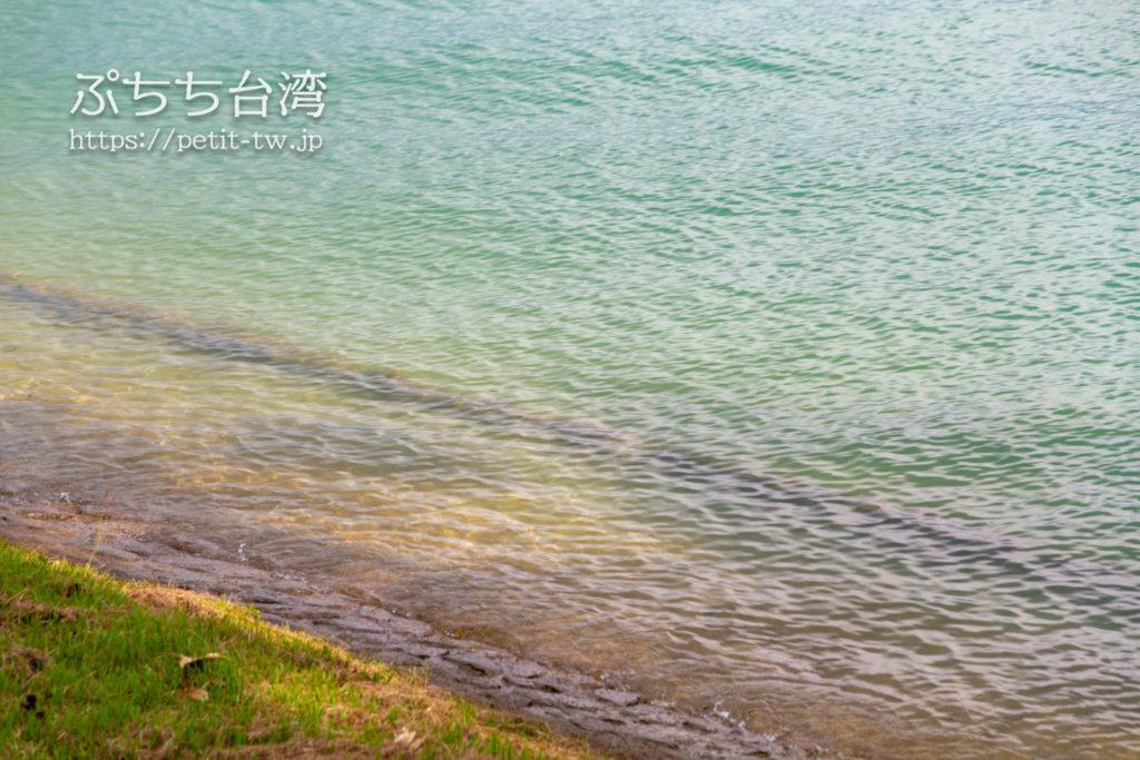 日月潭の湖