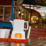 Moon Cafe ムーンカフェ 日月潭水上明月咖啡館の店内