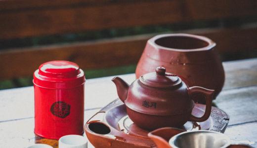 邀月茶坊 隠れ家的な茶藝館!茶畑に囲まれたテラス席で台湾茶を(台北・猫空)