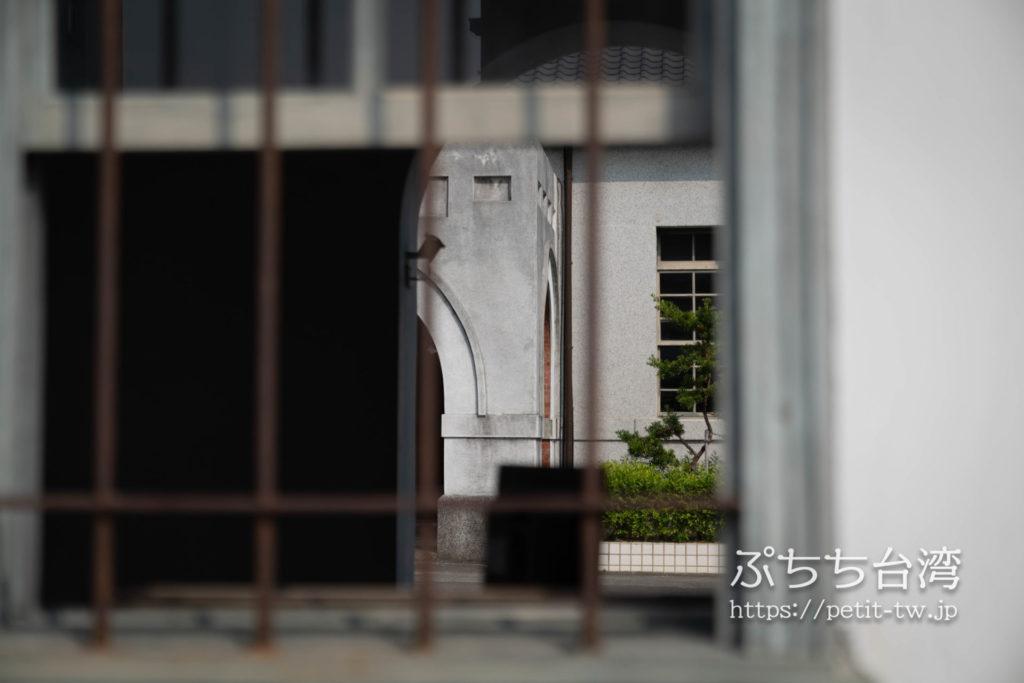 台湾嘉義の旧監獄の外観
