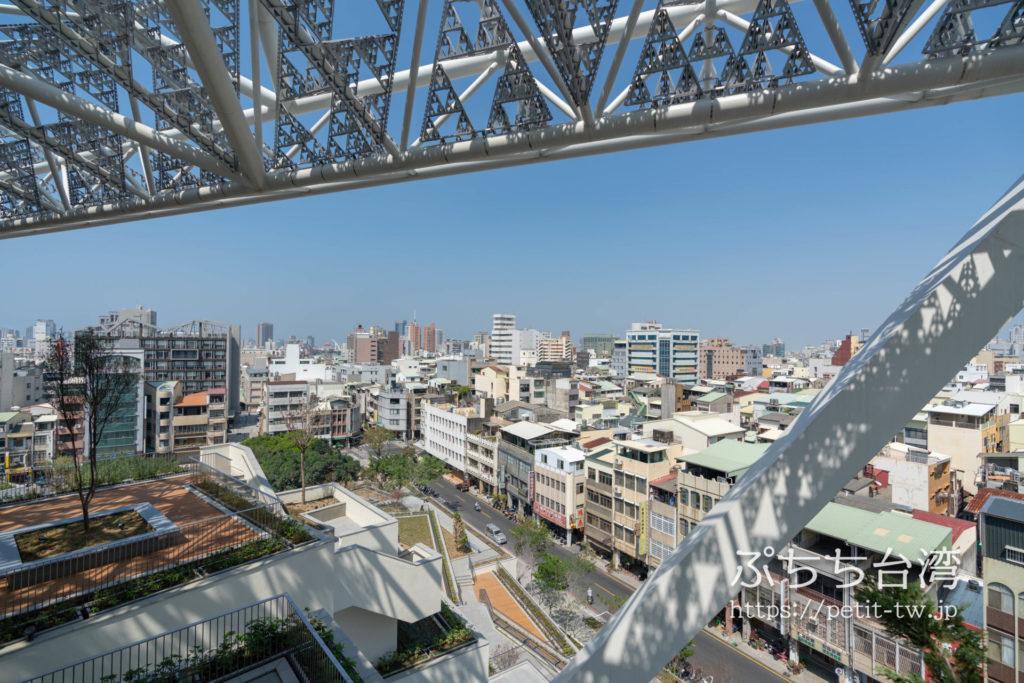 台南市美術館二館からの眺望