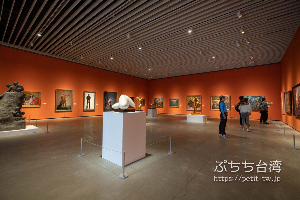 台南市美術館二館の館内