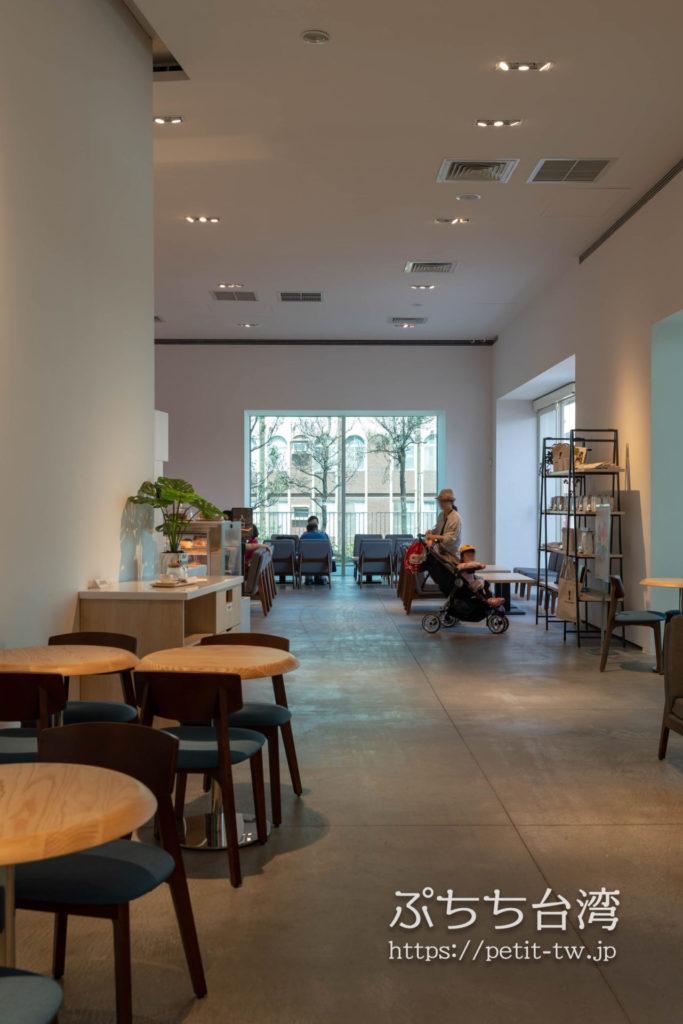 台南市美術館二館のカフェ