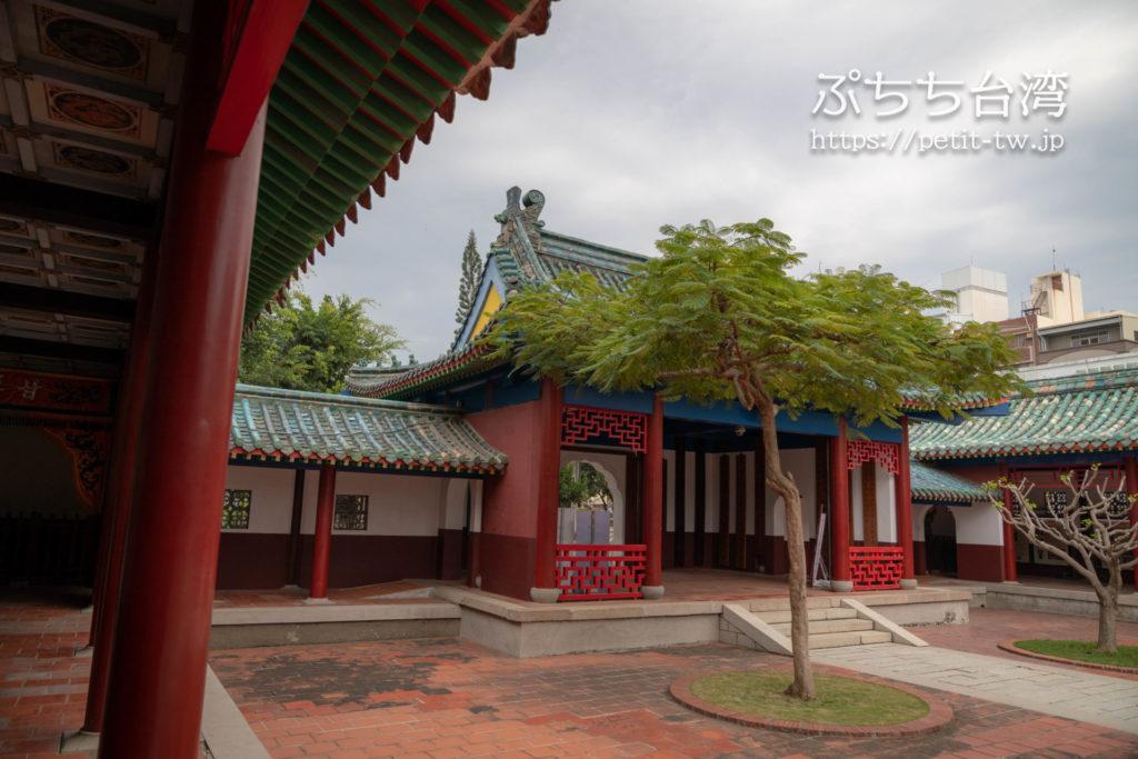 台南の延平郡王祠の廟