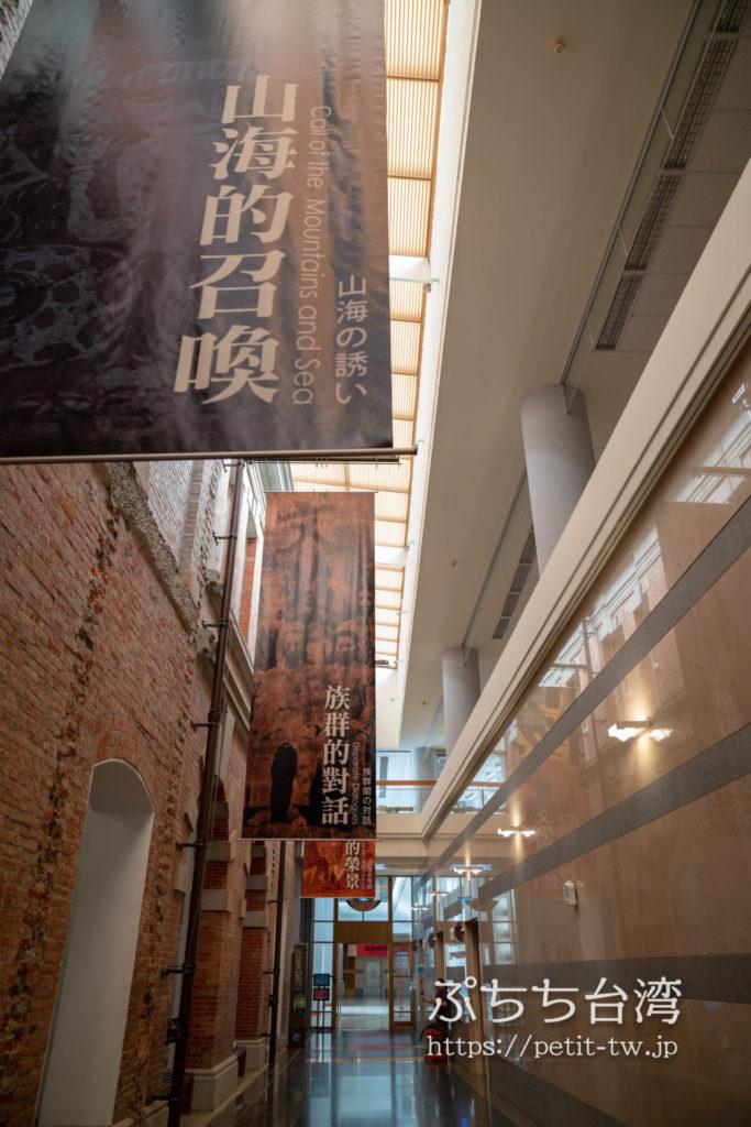 国立台湾文学館、旧台南州庁の館内