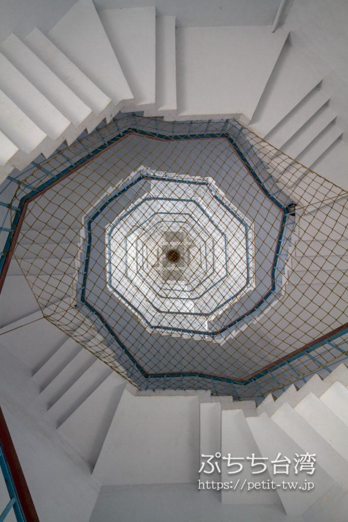 日月潭の慈恩塔の階段