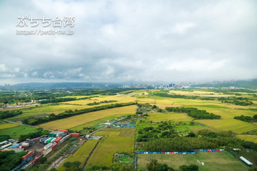 アロフト台北北投 サヴィールームからの眺望