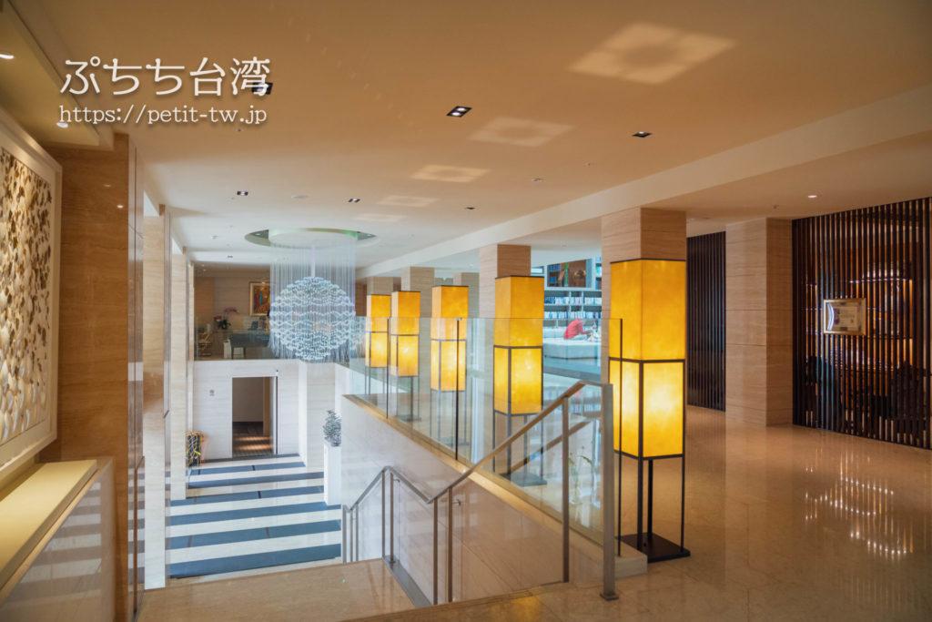 ザガイアホテル(大地酒店)のロビー