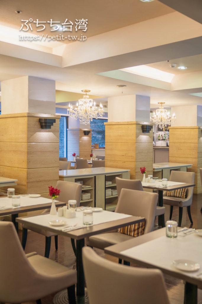 ザガイアホテル(大地酒店)のアフタヌーンティーのレストラン