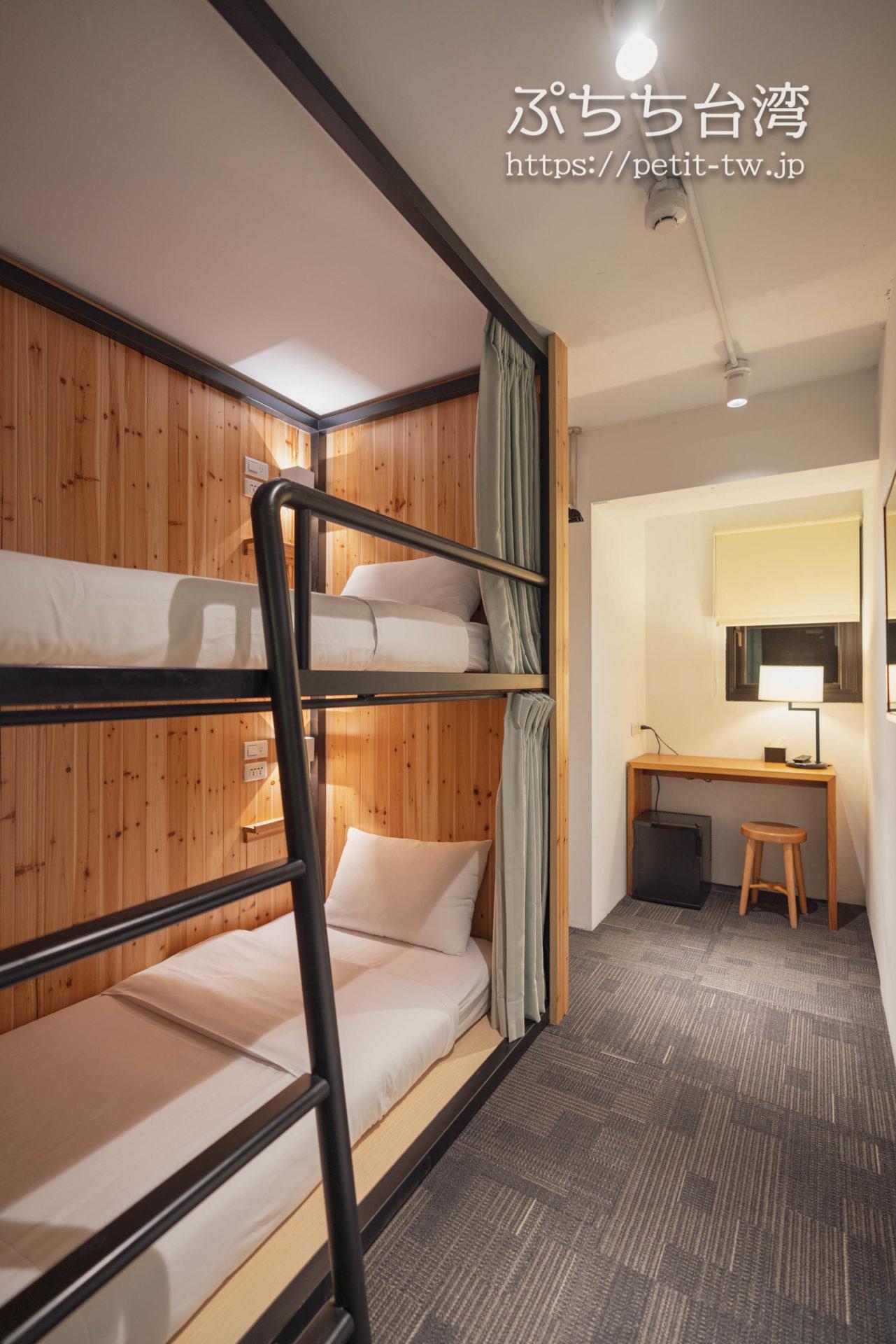 スターホステル台北イースト Star Hostel Taipei Eastのツインルーム