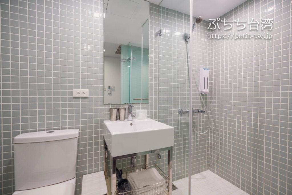 スターホステル台北イースト Star Hostel Taipei Eastのシャワールーム