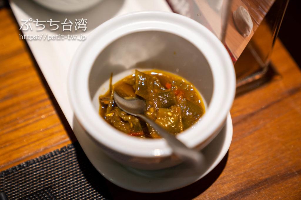 品川蘭の調味料のピリ辛ソース
