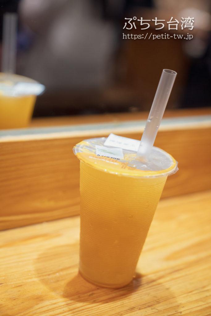 雙月食品社の檸檬愛玉ジュース