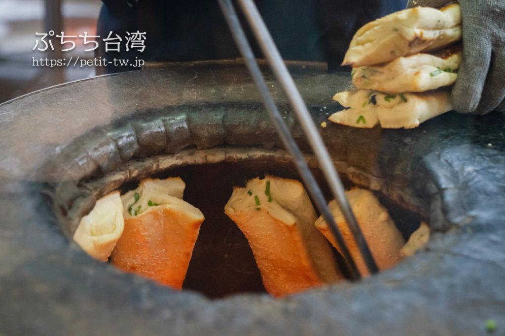 阜杭豆漿(フーハン・ドゥジャン)の焼きパン