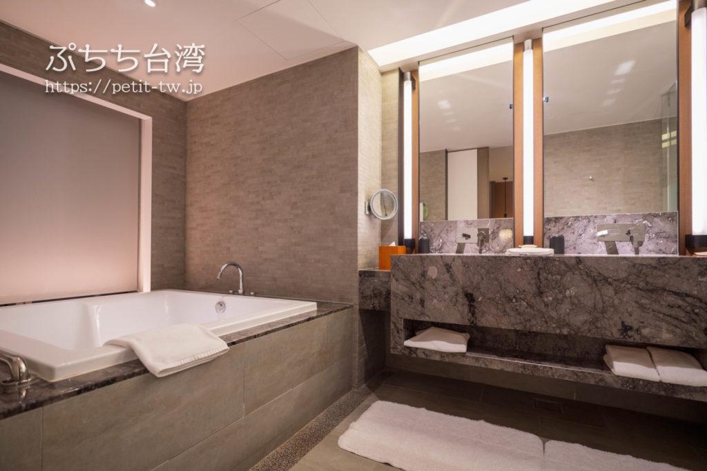 シルクスプレイス台南のバスルーム