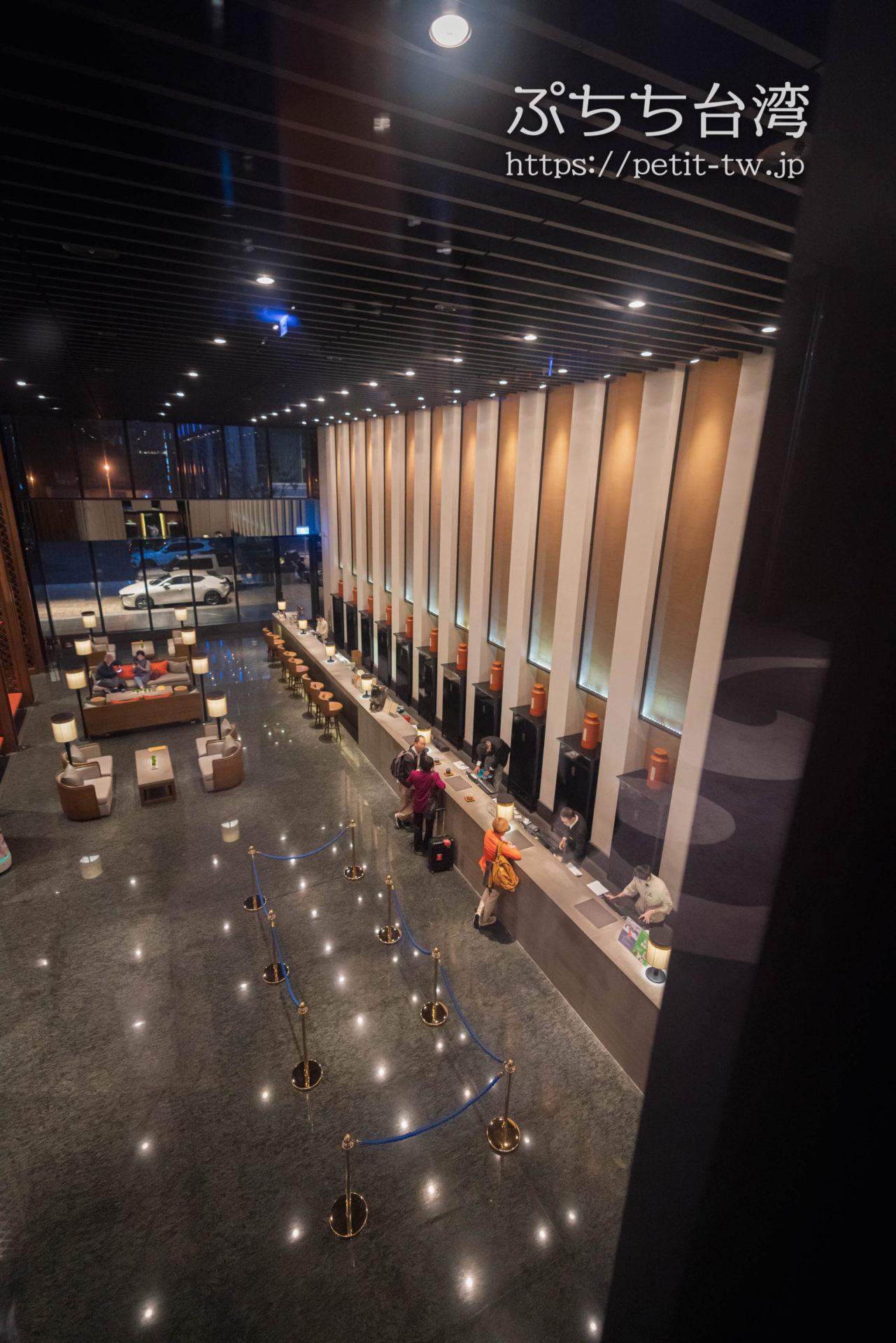シルクスプレイス台南(Silks Place Tainan、台南晶英酒店)のホテルロビー