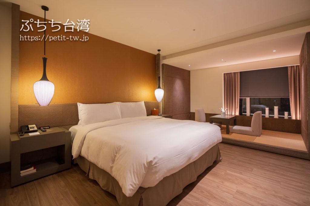 シルクスプレイス台南(Silks Place Tainan、台南晶英酒店)のジュニアスイート客室