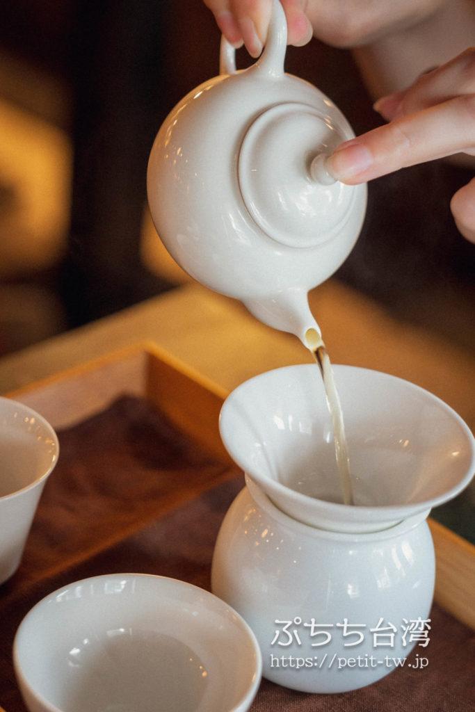 半九十茶屋の台湾茶の淹れ方