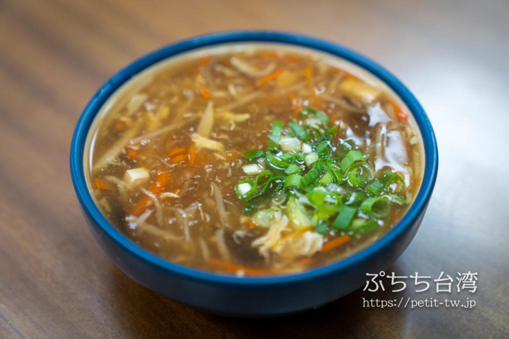 富錦饗小籠湯包のサンラータンスープ