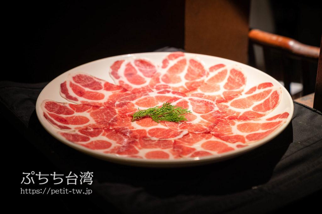 無老鍋の肉
