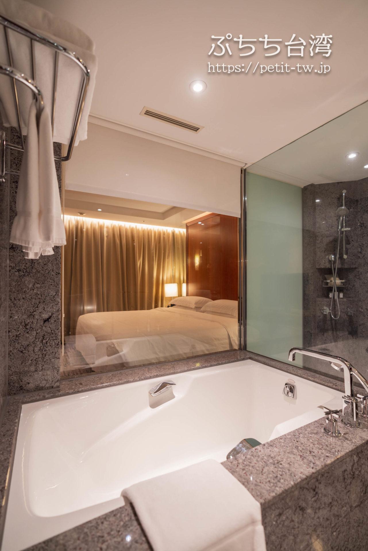 シェラトングランド台北ホテル バスルーム