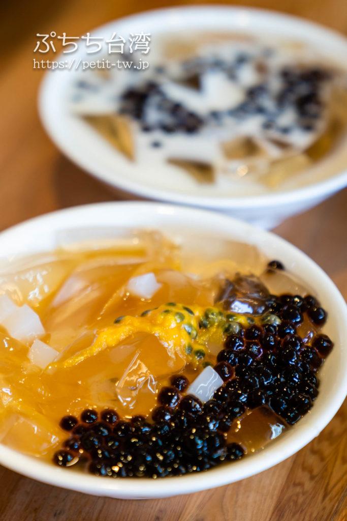 台南の清水堂の愛玉檸檬