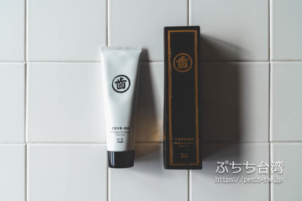 阿原(ユアンソープ、YUAN)のよもぎ歯磨きペースト、歯磨き粉