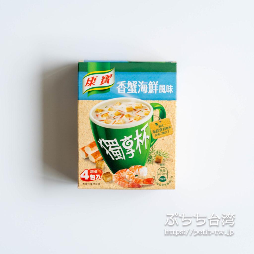 台湾のクノール、クリーミーシーフード風味
