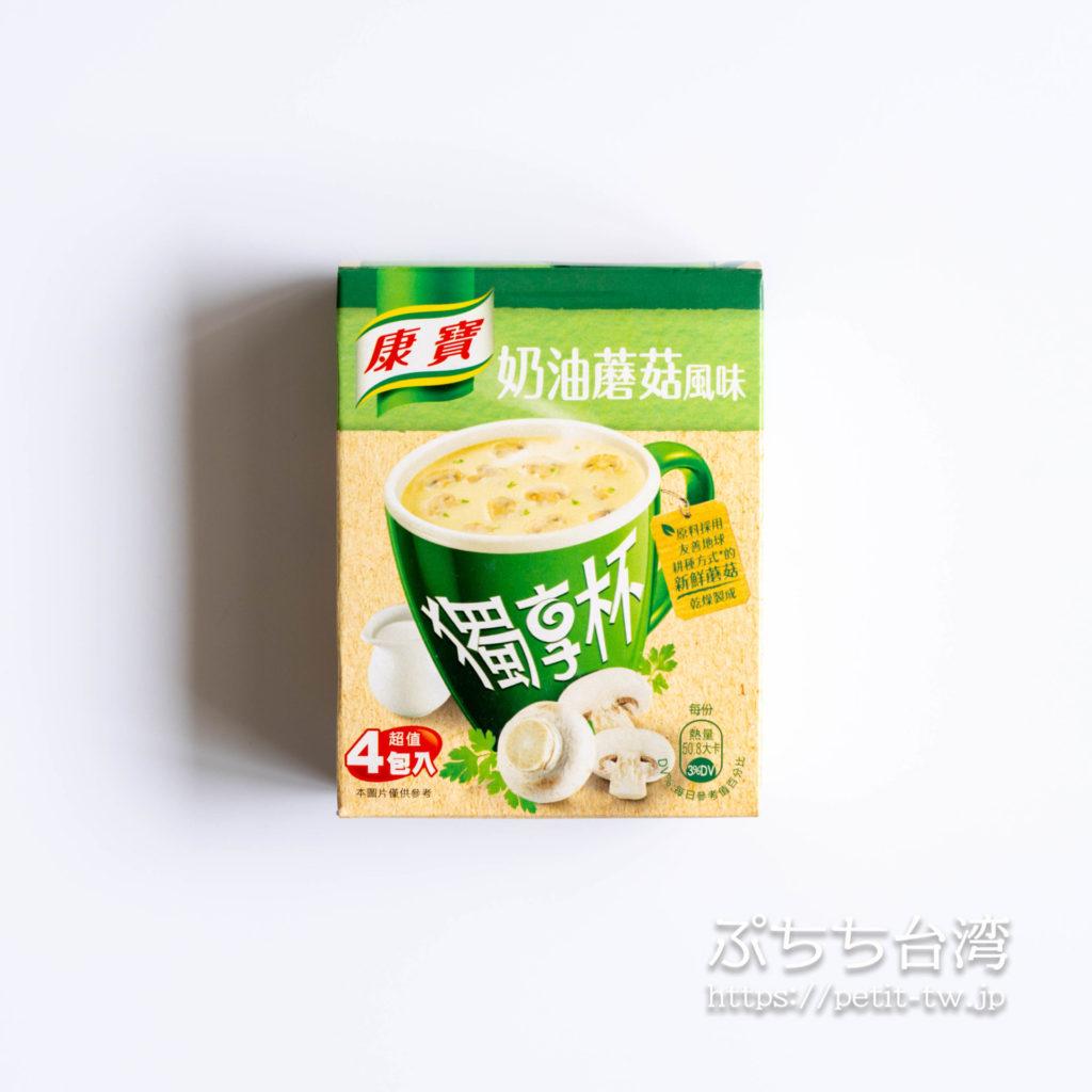 台湾のクノール、クリーミーマッシュルーム風味