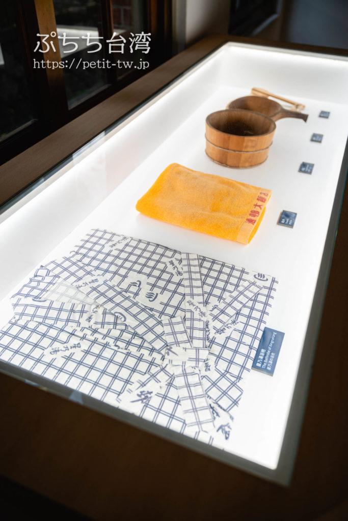 北投温泉博物館の展示