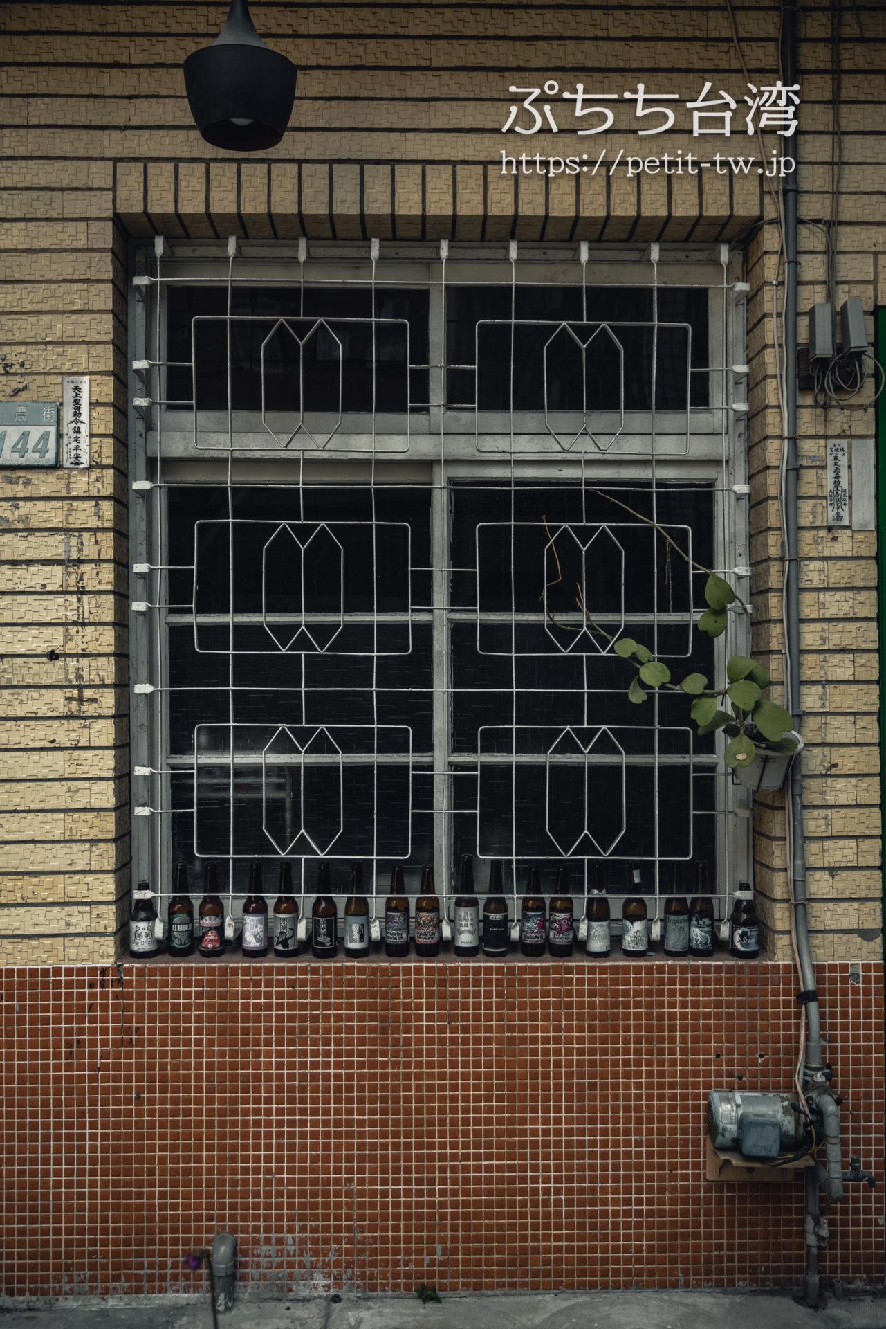 台南の神農街 鉄窓花