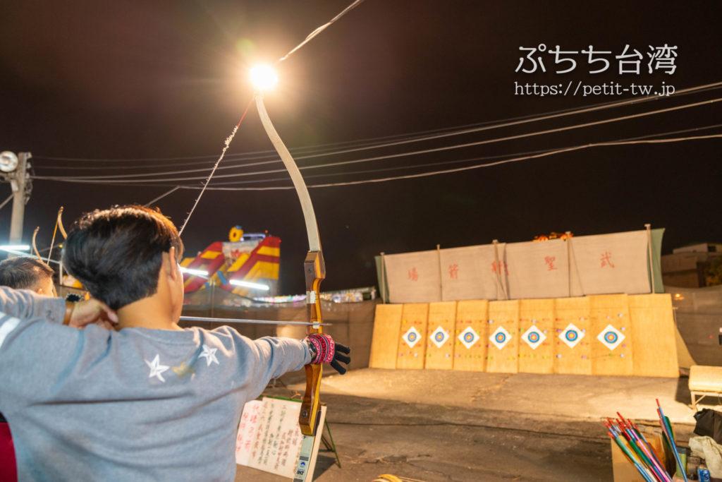 台南武聖夜市の射的