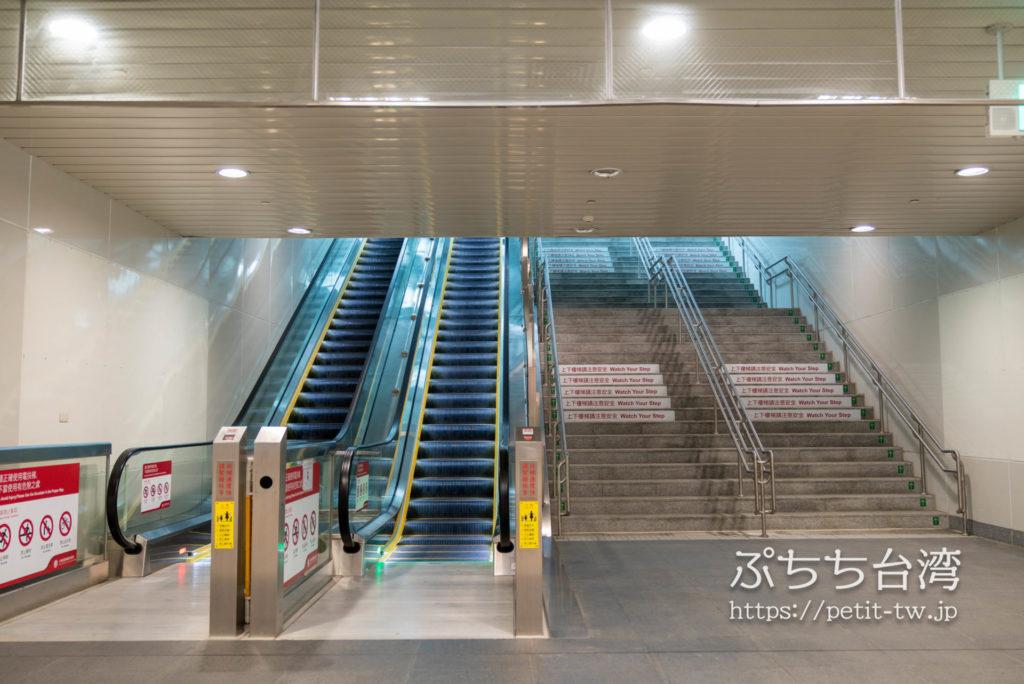 台鉄「左營」駅の地上出口