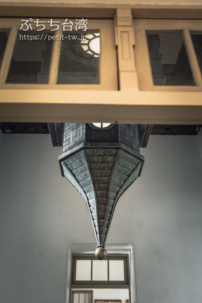 国定古跡台南地方法院(旧台南地方法院)の塔の模型